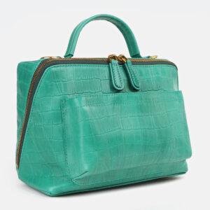 Модная зеленая женская сумка ATS-4263 237611