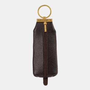 Удобная коричневая ключница ATS-4267
