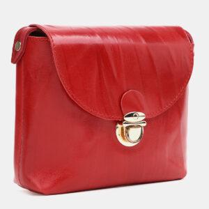 Деловой красный женский клатч ATS-3786 237370