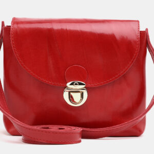 Деловой красный женский клатч ATS-3786