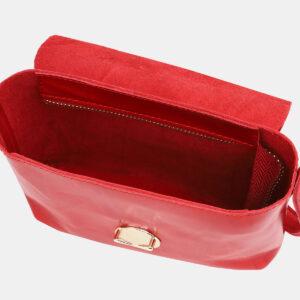 Деловой красный женский клатч ATS-3786 237372