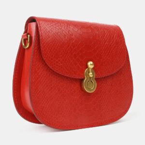 Неповторимый красный женский клатч ATS-4237 237415