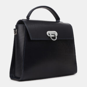 Вместительная синяя женская сумка ATS-4221 237484