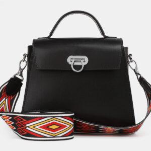 Деловая черная женская сумка ATS-4219