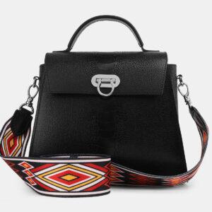 Неповторимая черная женская сумка ATS-4220