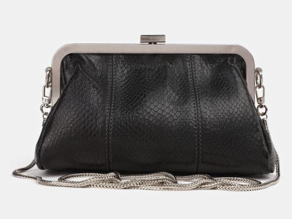 Удобный черный женский клатч ATS-4245