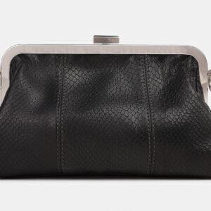 Удобный черный женский клатч ATS-4245 237526