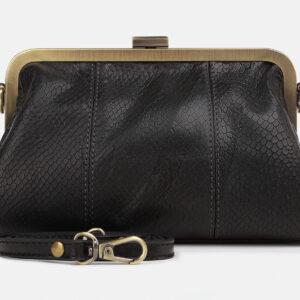 Стильный черный женский клатч ATS-4246