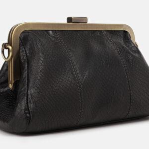 Стильный черный женский клатч ATS-4246 237519