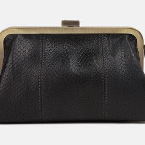 Стильный черный женский клатч ATS-4246 237521