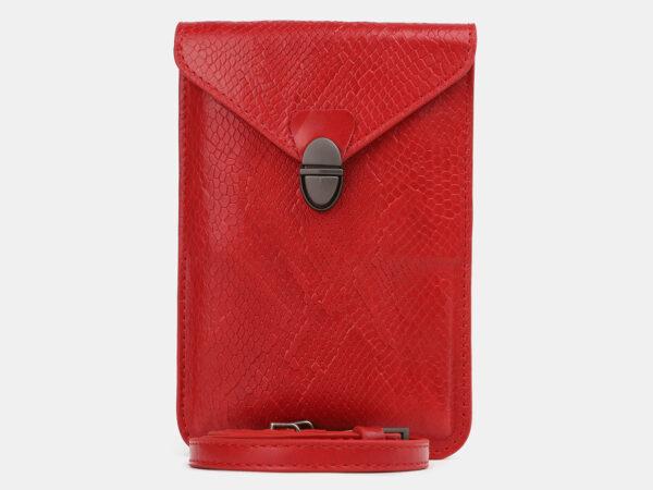 Модный красный женский клатч ATS-4238