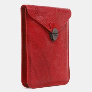 Уникальный красный женский клатч ATS-4239 237405