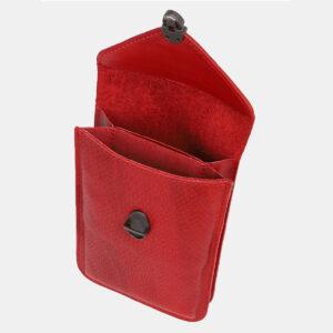 Уникальный красный женский клатч ATS-4239 237408
