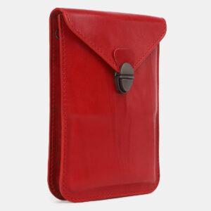 Функциональный красный женский клатч ATS-4241 237395