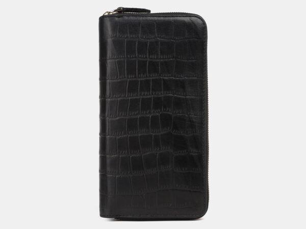Солидный черный портмоне ATS-4236