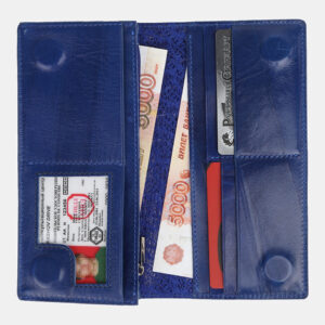 Неповторимый голубовато-синий кошелек ATS-4232 237437