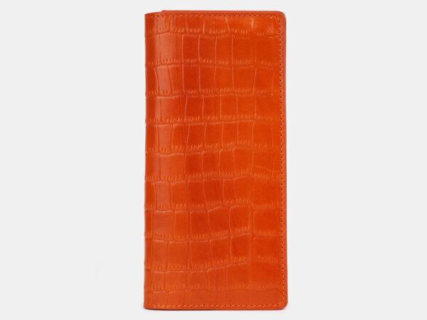 Уникальный оранжевый кошелек ATS-4234