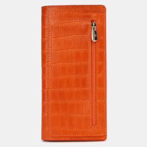 Уникальный оранжевый кошелек ATS-4234 237428