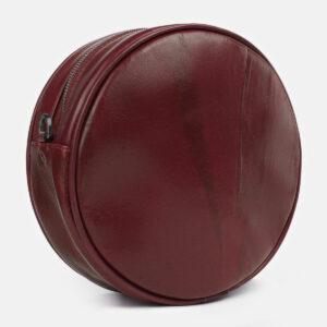 Деловая бордовая женская сумка ATS-5421 237898