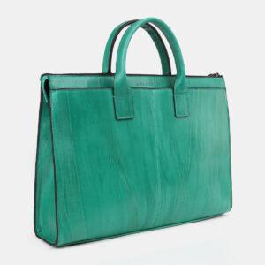 Функциональный зеленый мужской портфель ATS-4271 237681