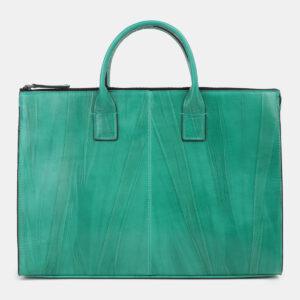 Функциональный зеленый мужской портфель ATS-4271 237682