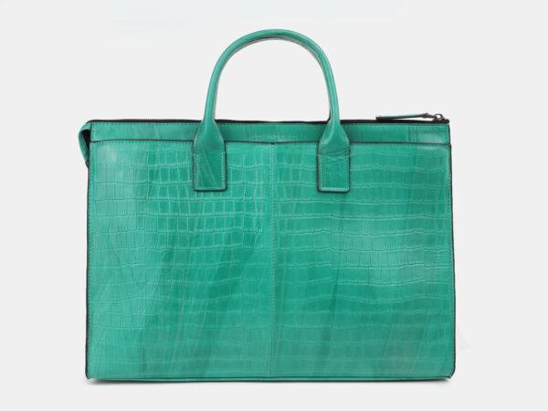 Неповторимый зеленый мужской портфель ATS-4272