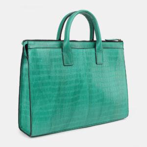 Неповторимый зеленый мужской портфель ATS-4272 237676