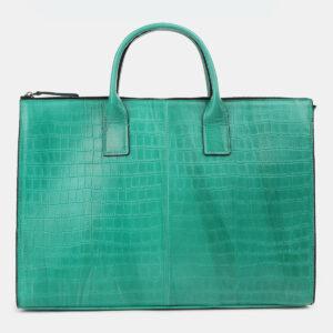 Неповторимый зеленый мужской портфель ATS-4272 237677