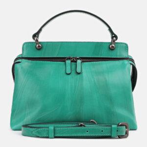 Неповторимая зеленая женская сумка ATS-4278