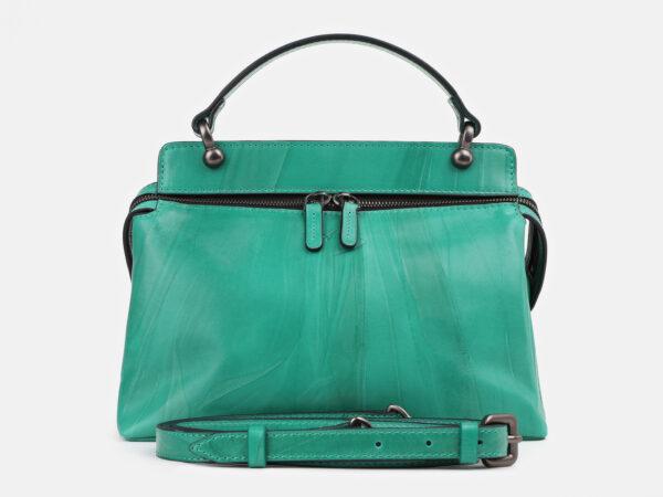 Модная зеленая женская сумка ATS-4278