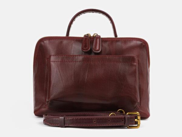 Неповторимая бордовая женская сумка ATS-4279