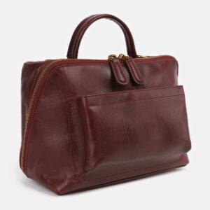 Неповторимая бордовая женская сумка ATS-4279 237694
