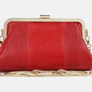 Функциональный красный женский клатч ATS-4275