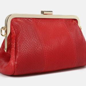 Стильный красный женский клатч ATS-4275 237714