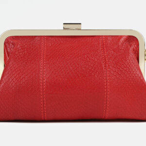 Стильный красный женский клатч ATS-4275 237715