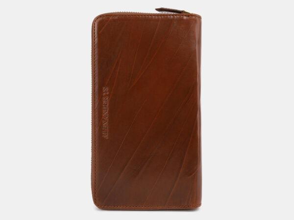 Неповторимый светло-коричневый портмоне ATS-4276