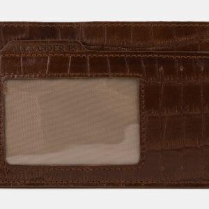 Уникальная светло-коричневая визитница ATS-4281 237686
