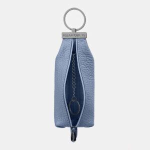 Кожаная голубая ключница ATS-5371 237761