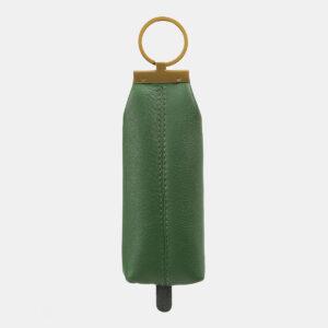 Кожаная зеленая ключница ATS-5369 237770