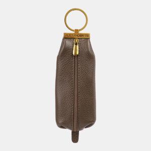 Модная коричневая ключница ATS-5367