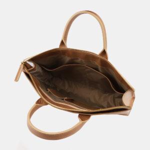 Стильный бежевый мужской портфель ATS-5414 237836