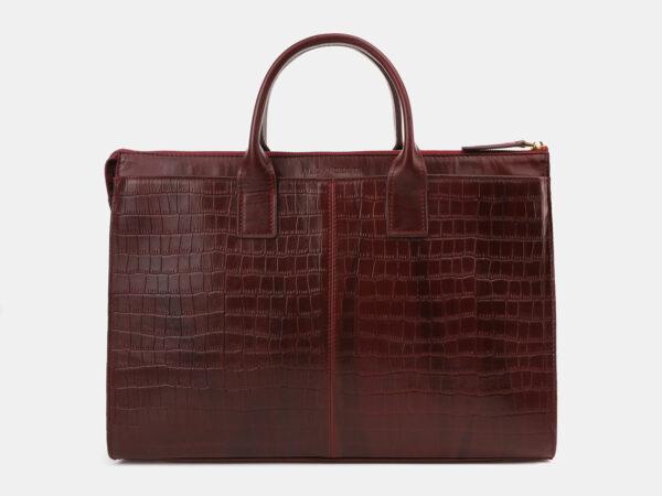 Вместительный бордовый мужской портфель ATS-5415