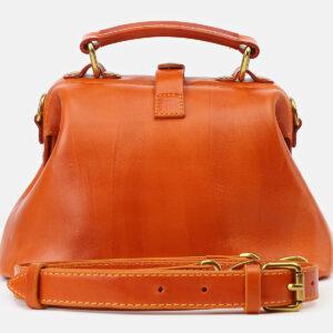Удобная оранжевая женская сумка ATS-5412