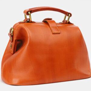 Удобная оранжевая женская сумка ATS-5412 237843