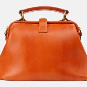 Удобная оранжевая женская сумка ATS-5412 237844