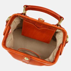 Удобная оранжевая женская сумка ATS-5412 237845