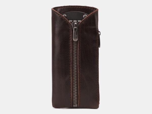 Деловая коричневая ключница ATS-5419