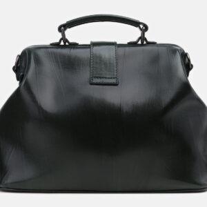 Уникальная черная сумка с росписью ATS-5432 237849