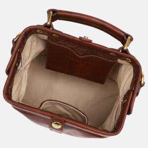 Неповторимая светло-коричневая сумка с росписью ATS-5431 237856