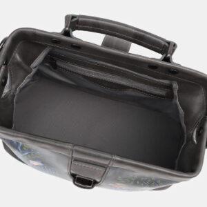 Неповторимая серая сумка с росписью ATS-5429 237861